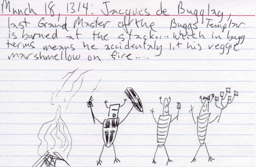 the buggs templar