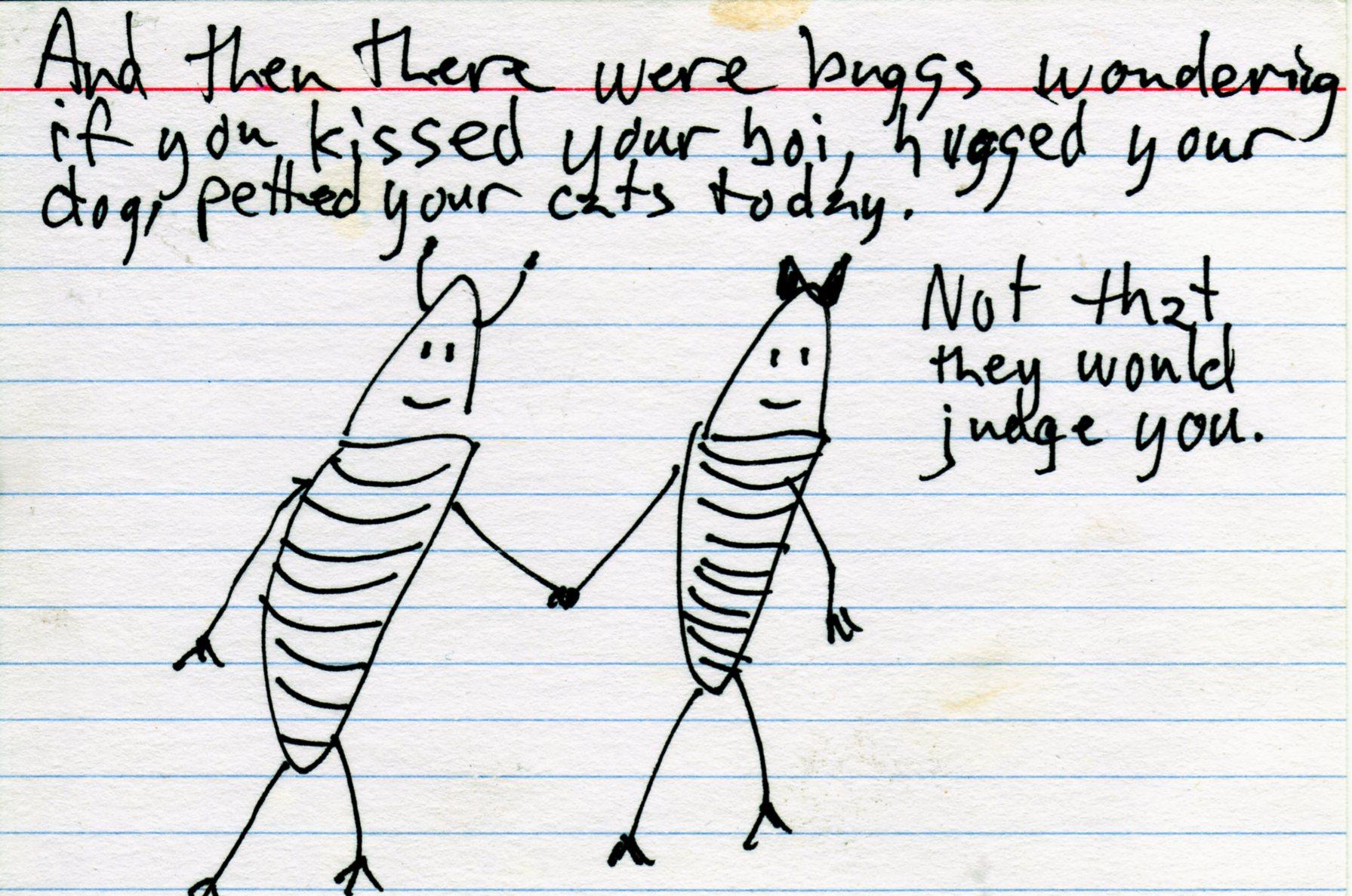 judging me