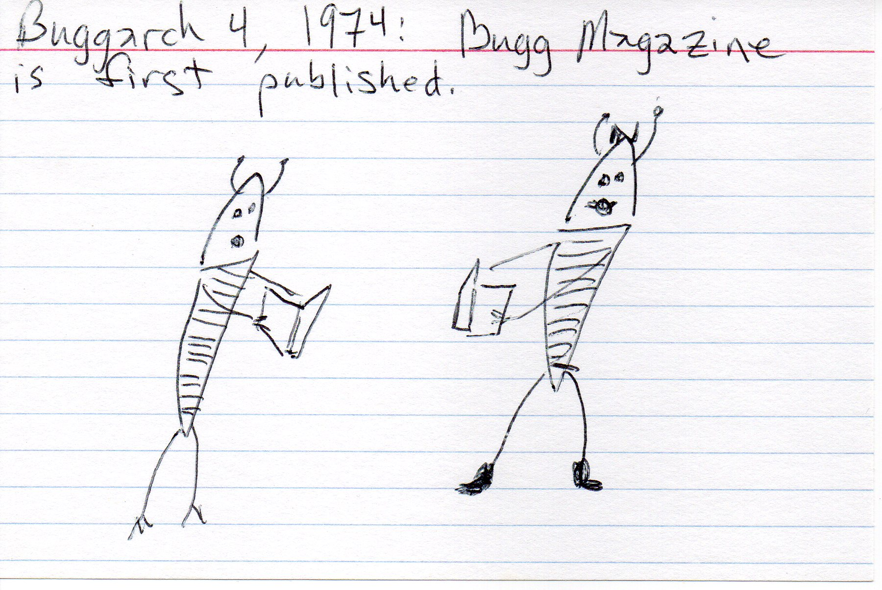 Bugg Magazine [click to embiggen]