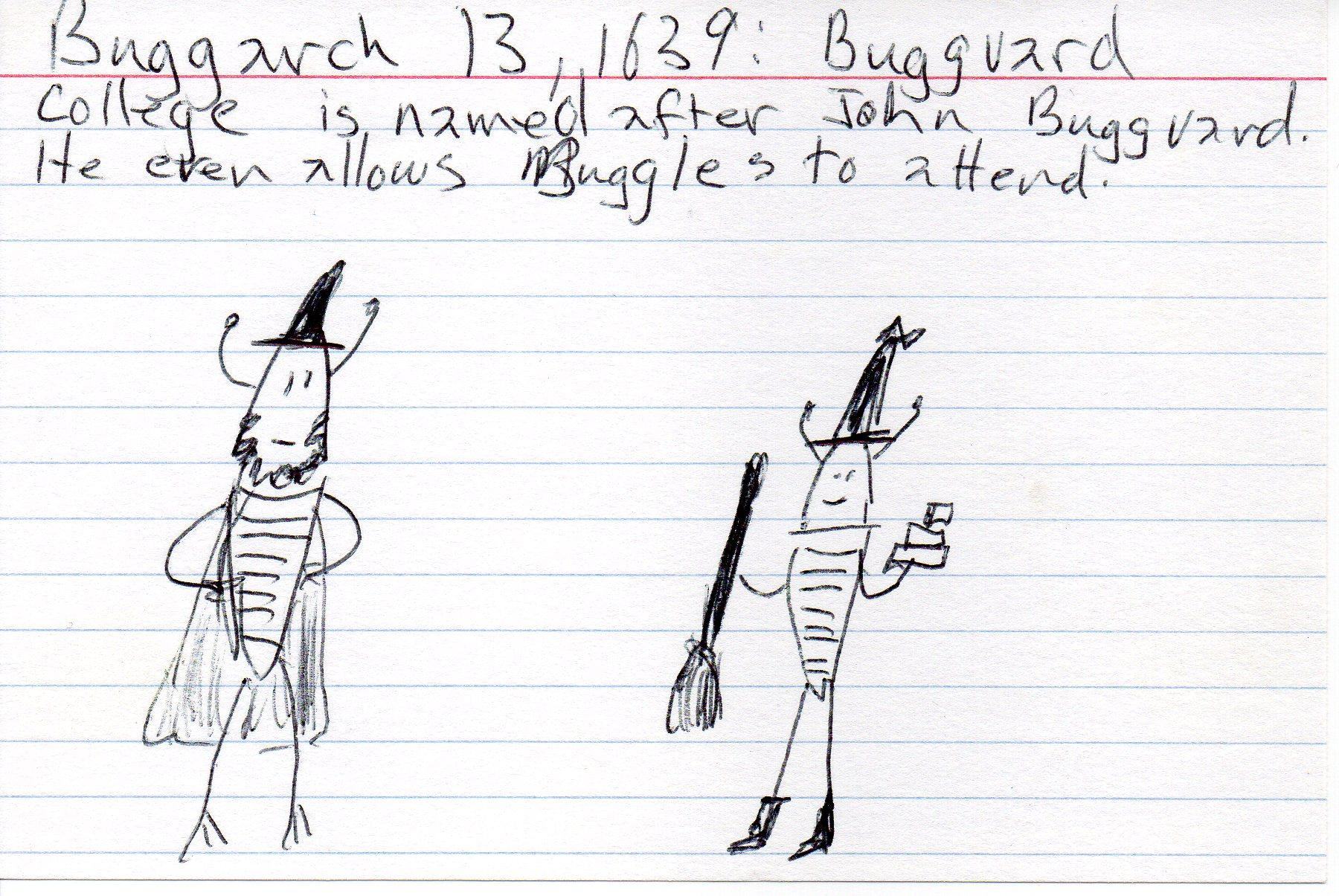 buggles at the university [click to embiggen]
